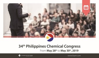 34th Philippines Chemistry Congress - May 28th to May 30th, 2019