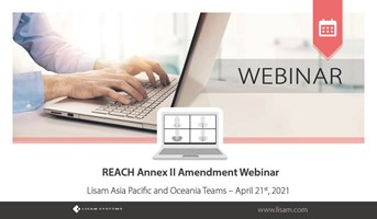 REACH Annex II Amendment Webinar